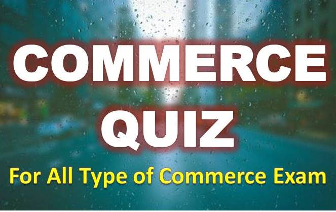 Top 10 Commerce MCQ for Accountant Exam