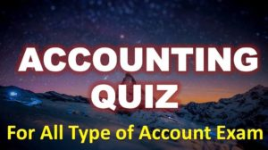 Accounting Quiz – 19 April