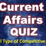 Current Affairs Quiz – 1 Nov