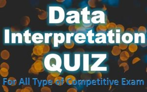 Data Interpretation (DI) Quiz – 21 May