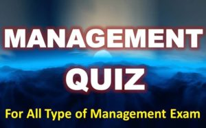 Management Quiz – 23 April