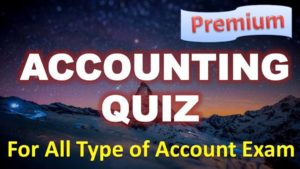 Cost Accounting Quiz – 27 May