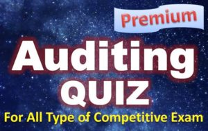 Auditing Quiz – 05 May