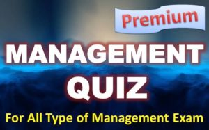 Management Quiz – 07 May